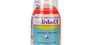 Bain de bouche chlorhexidine