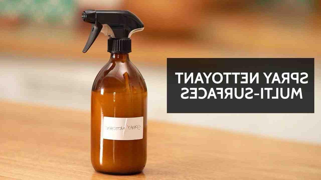 Comment faire un nettoyant avec du vinaigre blanc ?