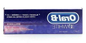 Oral b dentifrice