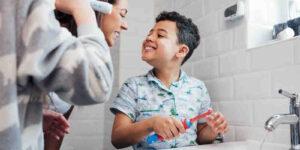 Comment nettoyer la bouche d'un enfant de 2ans ?